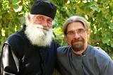 Monk Ignatius with Deacon Andrei