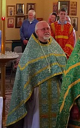 Newly-ordained Priest Philip Plowman