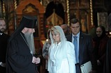 Archbishop Kyrill with then First-Lady of Russia, Svetlana Medvedeva
